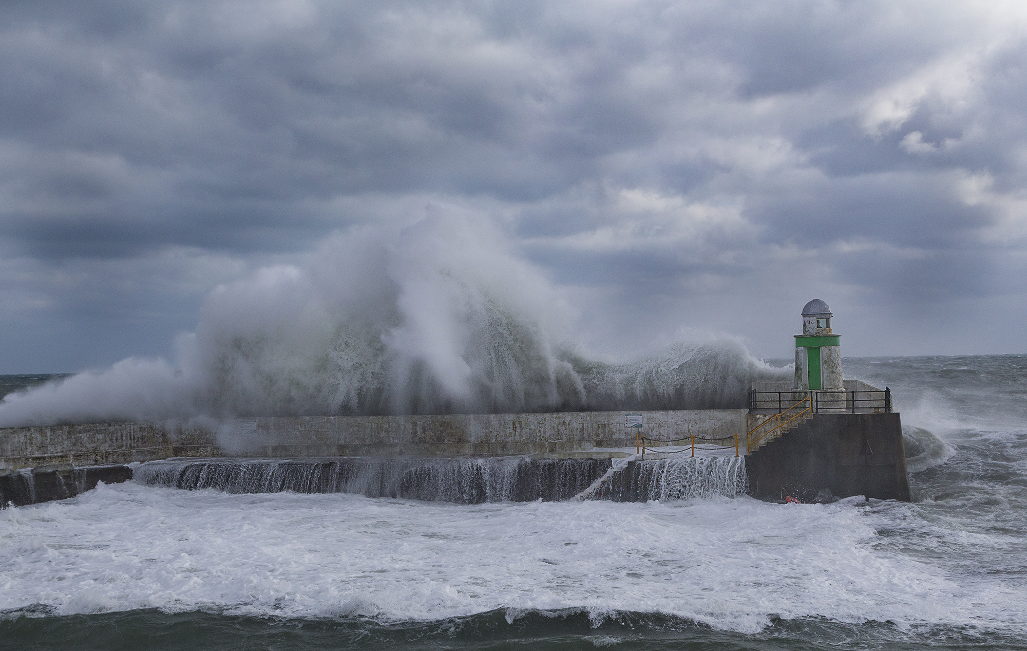 Laxey Harbour Lighthouse