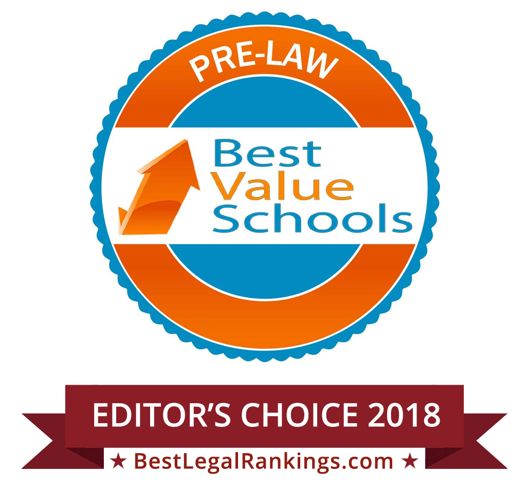 30 Best Value Schools for Pre-Law