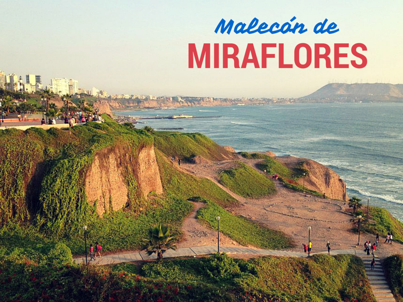 a postcard from miraflores