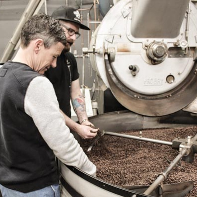 Quality Control Coffee Roasting