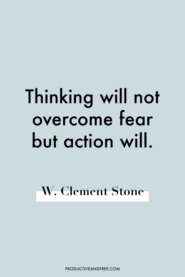 Quotes on Overcoming Fear