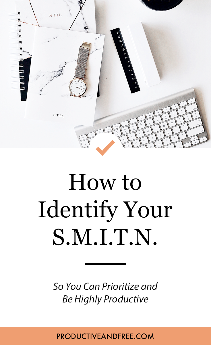 #1 Quality of Productive People | SMITN | Productive and Free