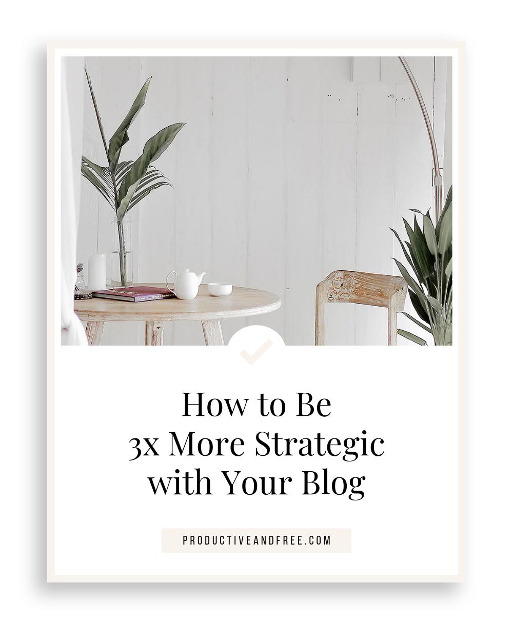 Blog Strategy
