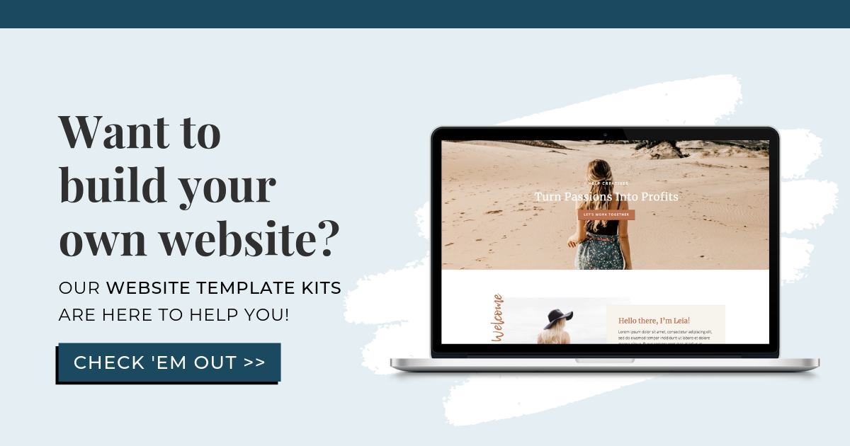 Squarespace Website Template Kit