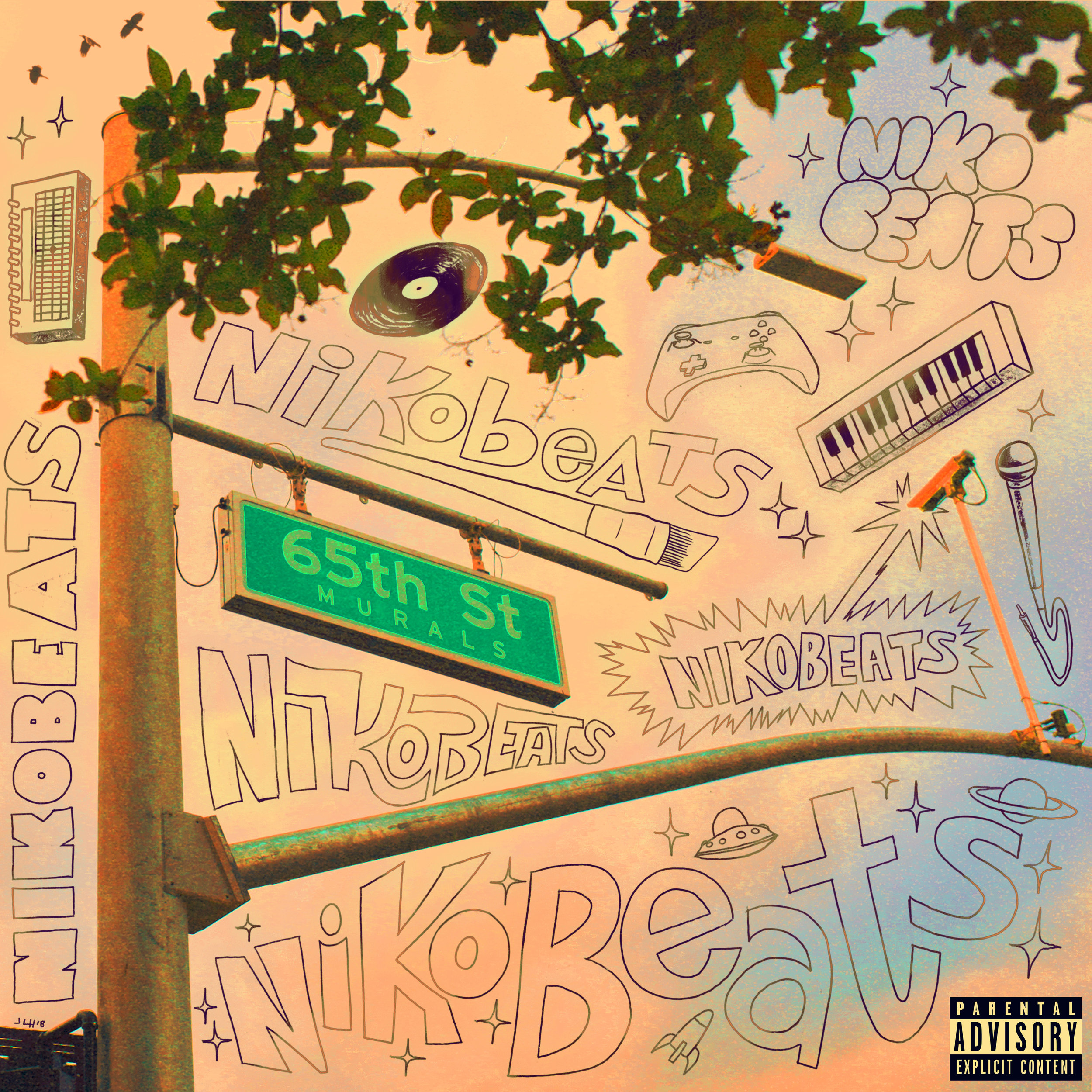 Nikobeats - 65th St Murals (2018) - Written, Produced, Performed, and Co-Mixed by NIkobeats