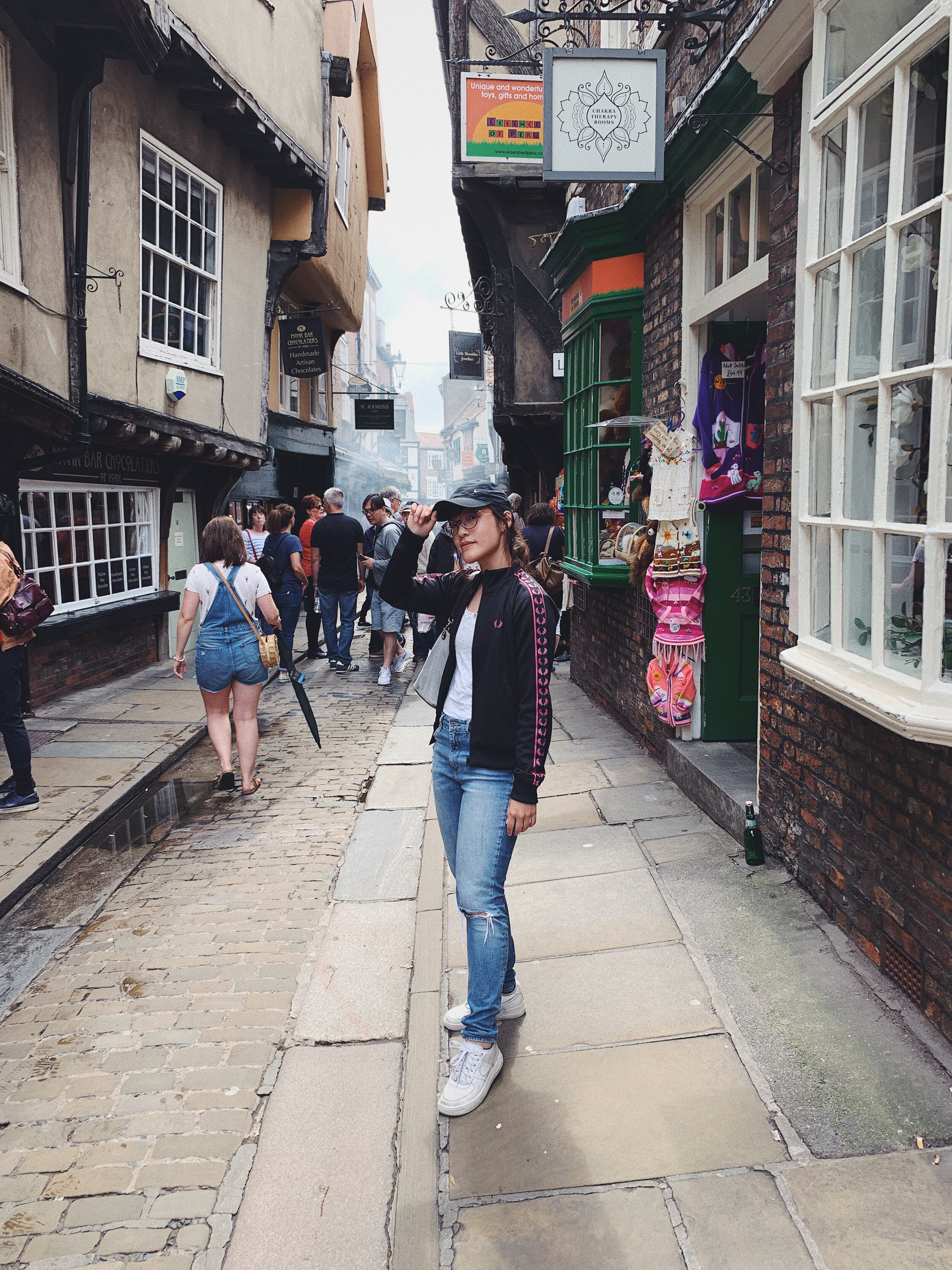 """At the place where J.K. Rowling got inspiration for Diagon Alley in the """"Harry Potter"""" stories"""