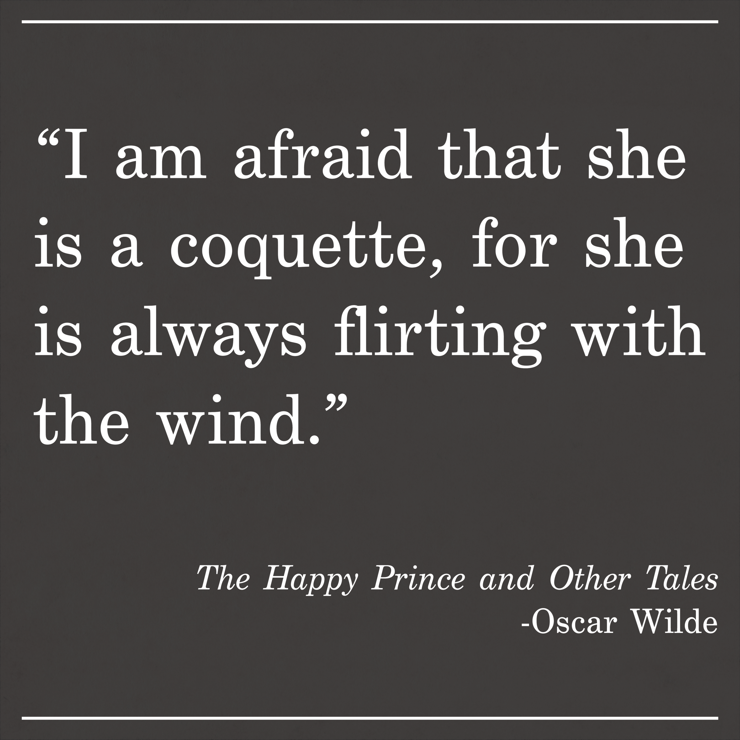 Daily Quote Oscar Wilde The Happy Prince