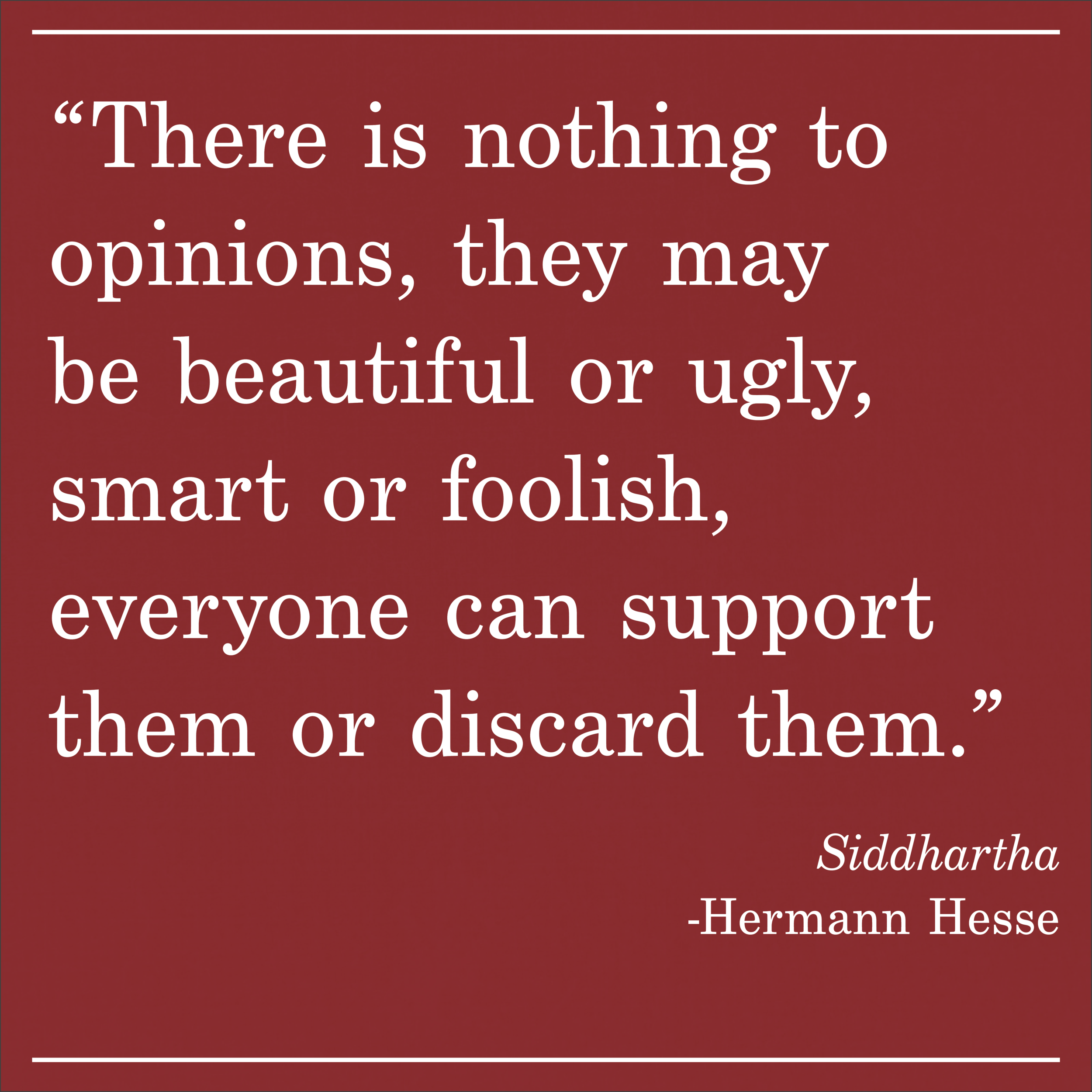 Daily Quote Siddhartha Hermann Hesse