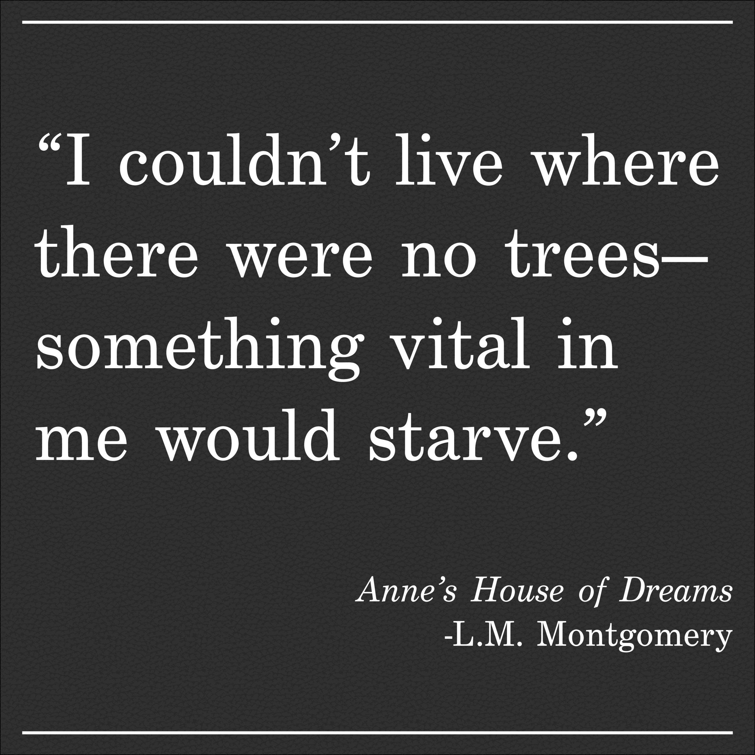 Daily Quote LM Montgomery Anne's House of Dreams