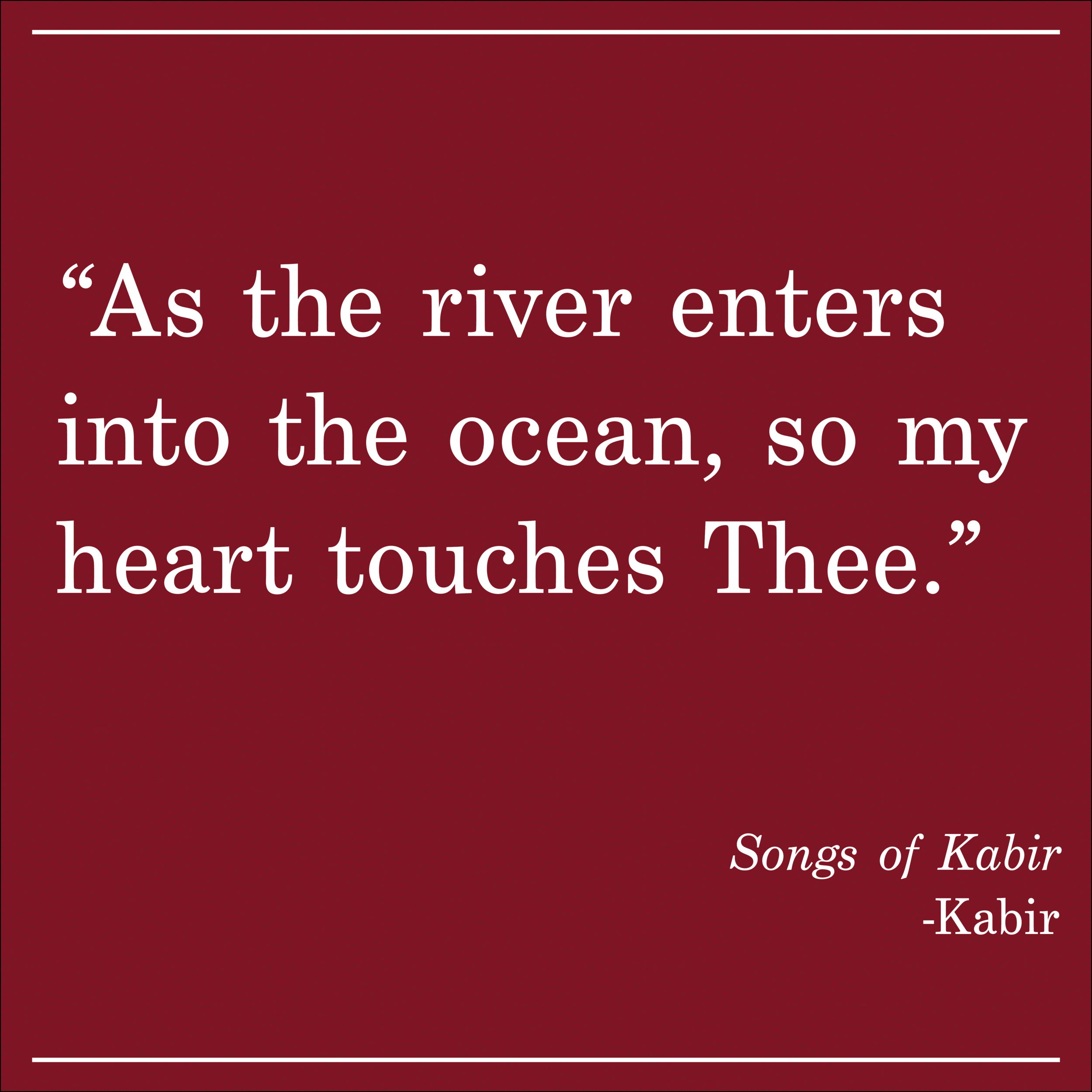 Daily Quote Songs of Kabir by Kabir