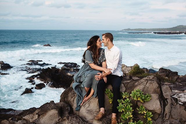 When you meet two individuals that are not only the sweetest, but also have one of those deep soul connections. You combine them with an awesome Maui backdrop and you get to make some pretty great memories together ✨