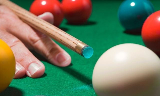 Get your head in the game this weekend and practice your trick shots at Gotham City Billiards!
