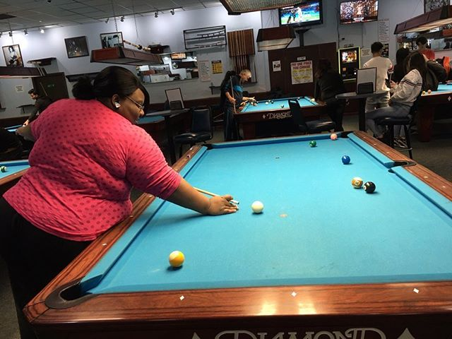 Looking for a great place for date night? Gotham City Billiards has beers, food, and great pool tables for you and your date to enjoy all night long!