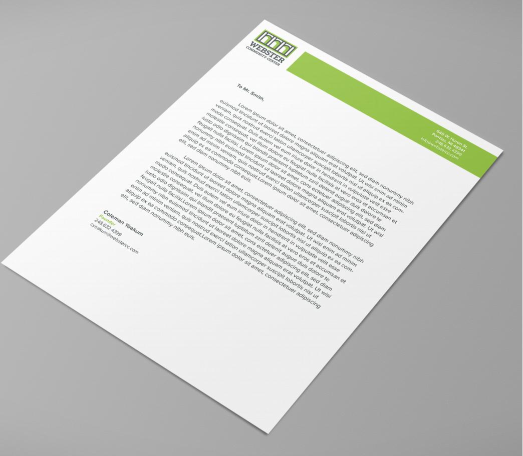 Letterhead Concept Design