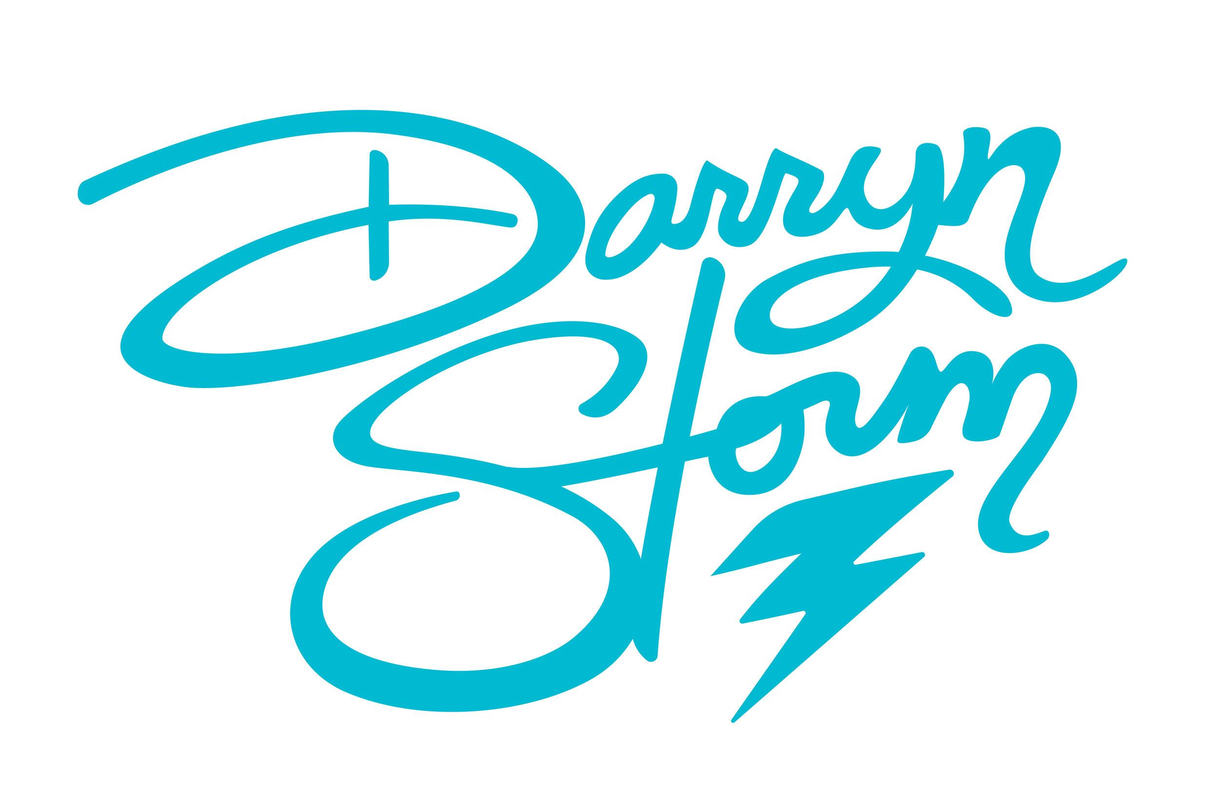Darryn Storm  Logo for a Flint-based burlesque dancer.