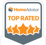 Check out our 5 star ratings at Home Advisor!
