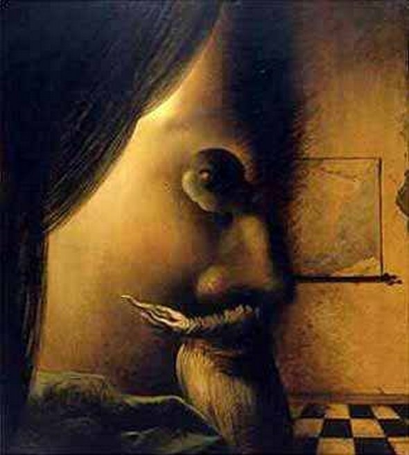 The Image Disappears, by Salvador Dali