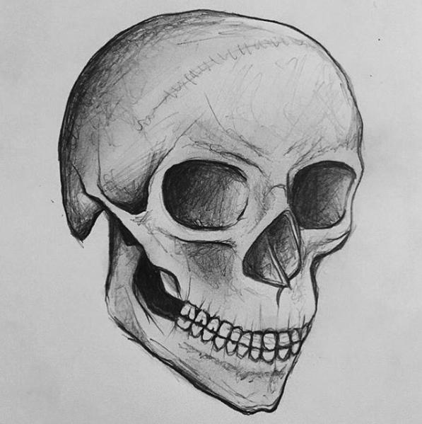Skull // Pencil