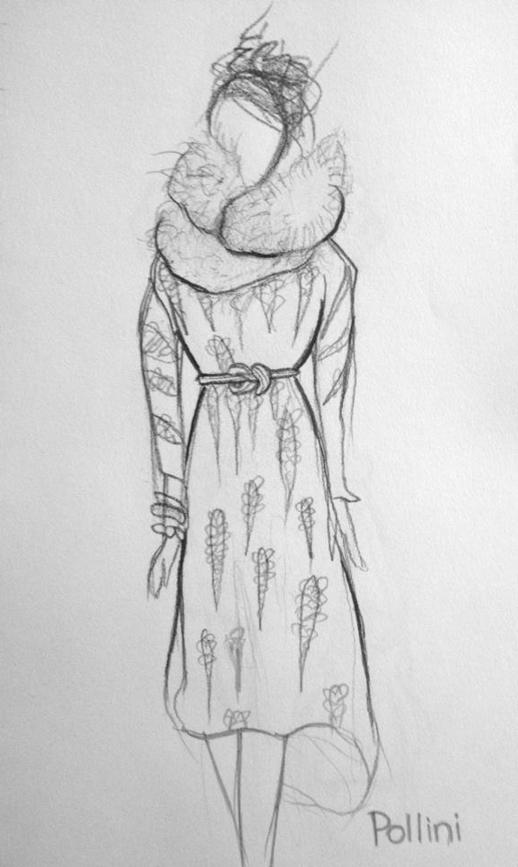 Pollini Dress // Pencil