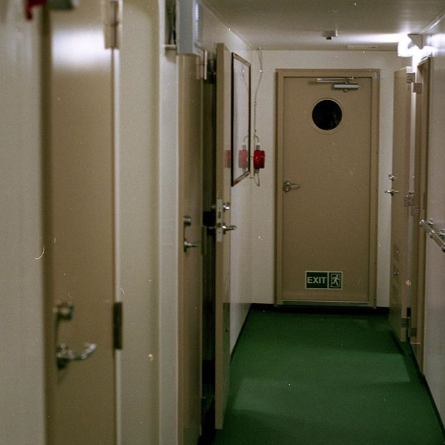 on higher floors the door to the abyss was merely a handle, versus a submarine door on those below.