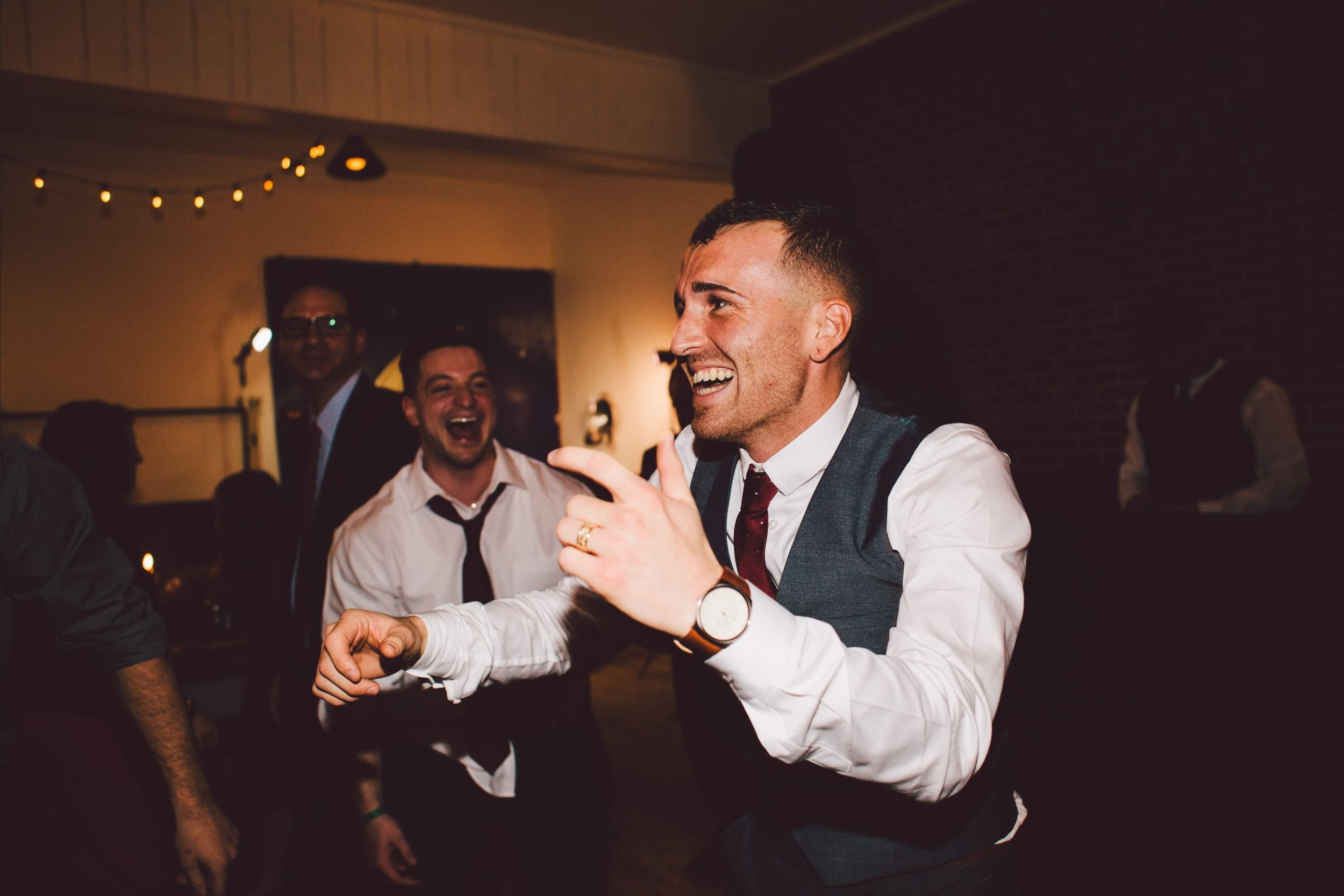This is my favorite picture of Keith from our wedding- dancing and joyful with that smile, that body, that RING! It's a good thing tonight is date night ;) Thanks to Ashley Fincham Photography for capturing this perfection.