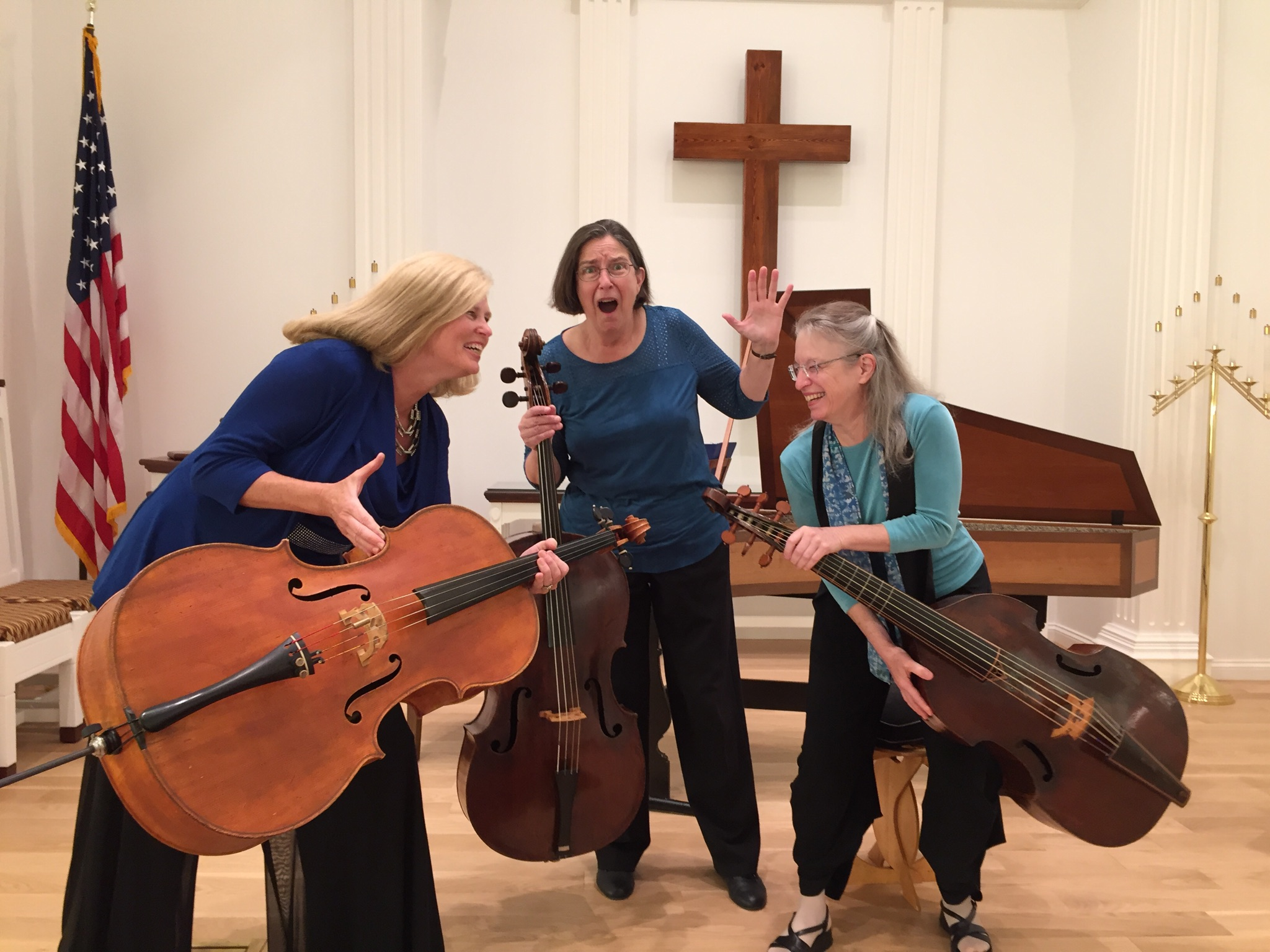 Dueling Cellos & Gamba Concert in Somers CT