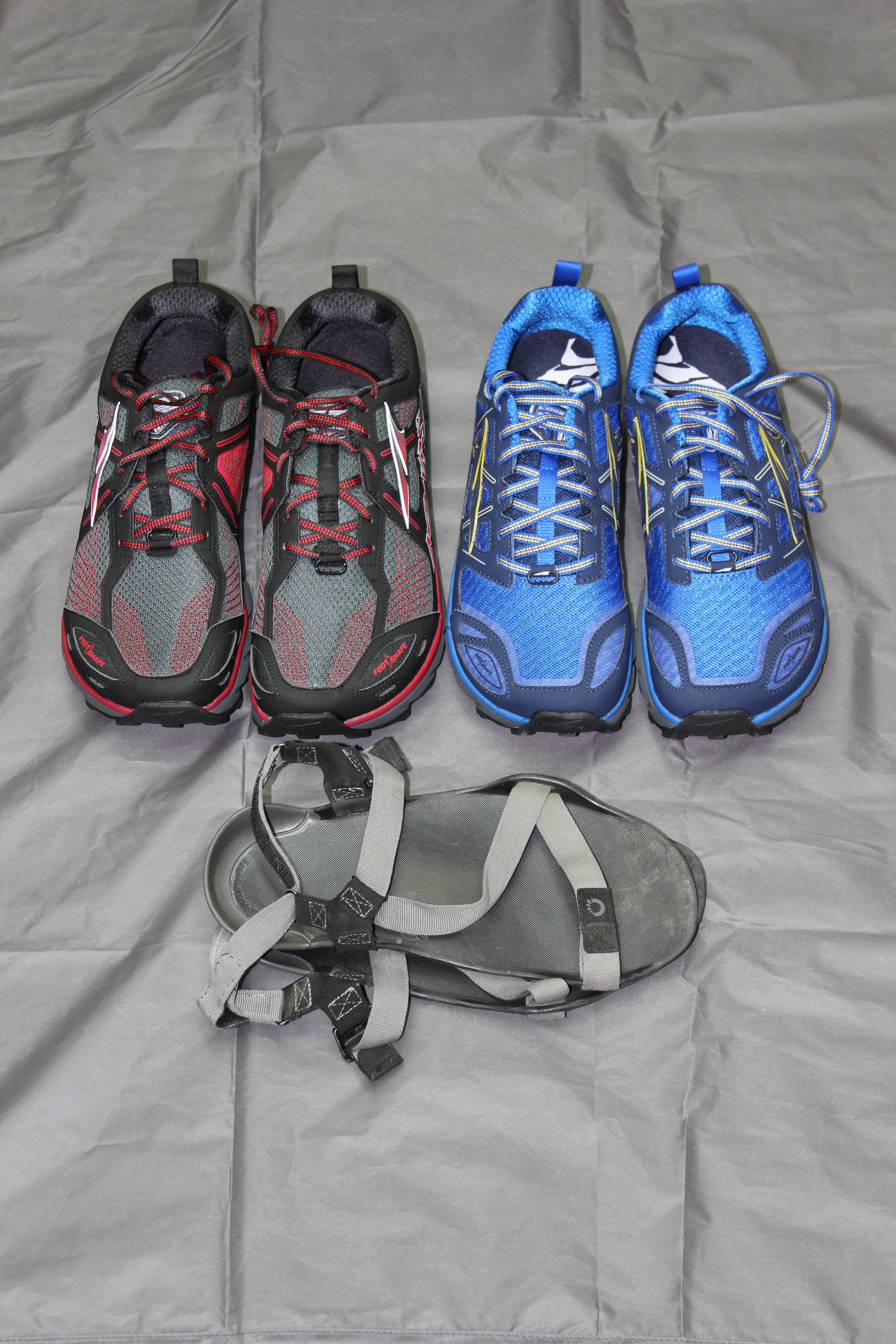 Altra Lone Peak 3.0 and 3.5  Xero Sandals
