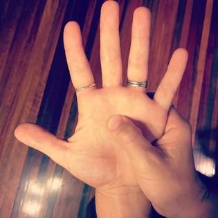 Solar Plexus Hand Reflex