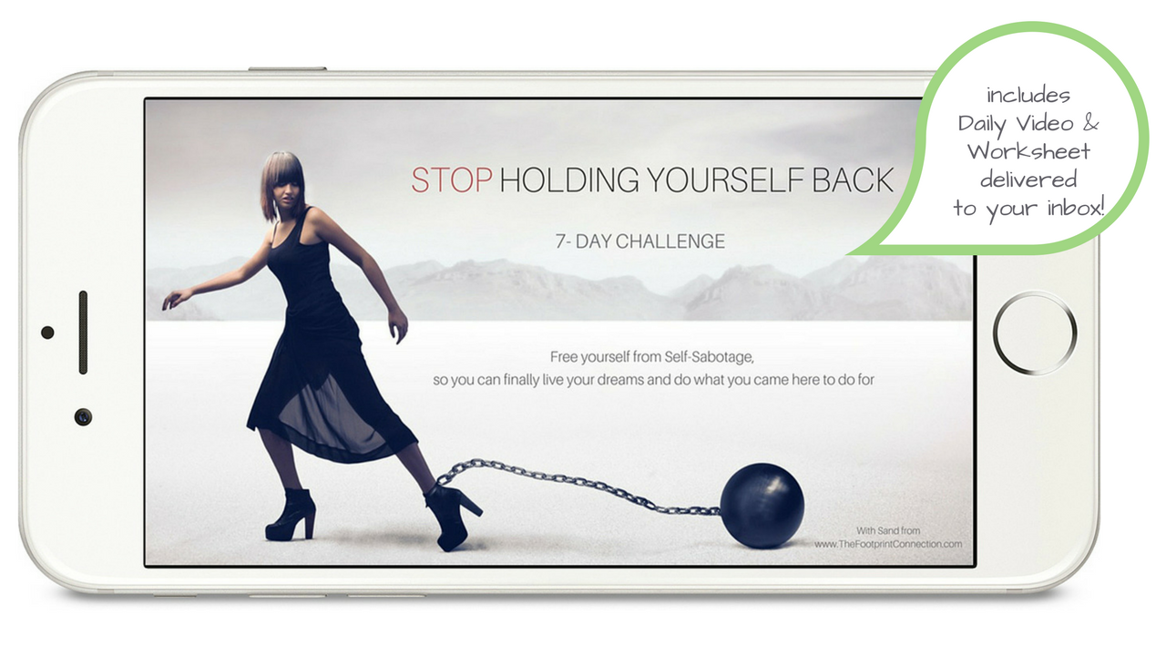 stop holding yourself back challenge