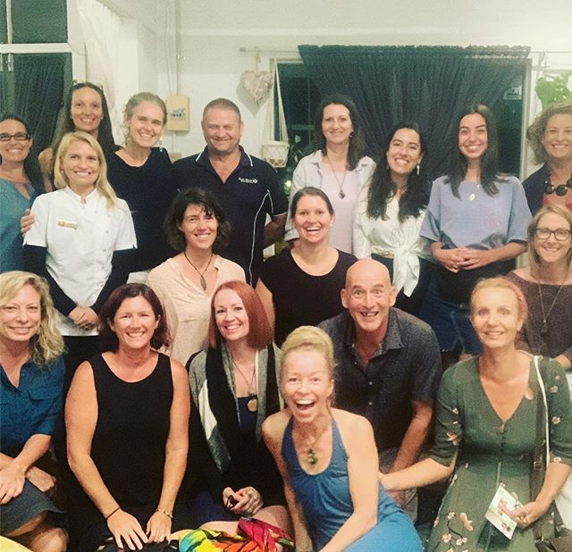 "We had an awesome High Vibe Coaches, Healers and Change Makers Meetup in Eumundi again last night. I presented about ""The 7 main forms of Resistance and how to overcome them"" (such a juicy topic!!). Resistance of known and unknown causes can come up anytime on the journey into more and more visibility - especially for healers and change makers who were persecuted heavily in the past. So I also did a powerful group clearing around our next steps to more visibility which shifted lots of stuff for people. We may soon see more of these faces pop up on our feeds 😃✨ and we also had time to network and connect with each other at the end.  I nearly forgot to take photos again and some had already left again, but lovely Sankara from the Tivoli Retreat reminded me - so here is one in which I just made the 3sec timer 😂  We catch up every 1st Monday of the month. Join us next time if you're up to connecting with an awesome tribe of like minded people and learning more around topics that help to empower yourself and step into more and more visibility. ✨"