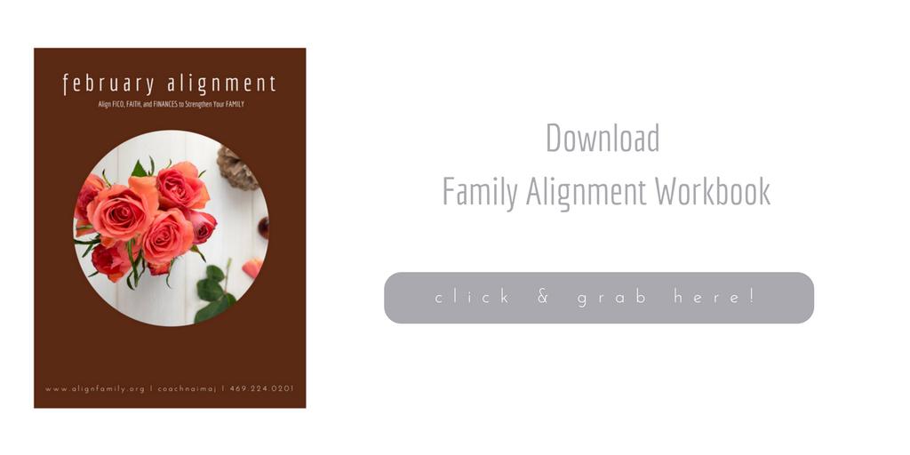 February Family Alignment Workbook 2018