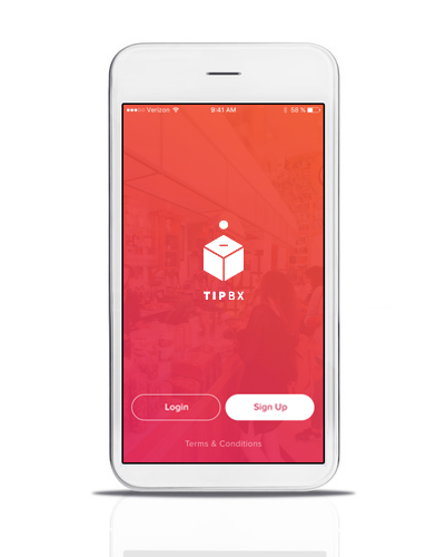 WHY TIPBx?GREAT SERVICE DESERVES A GREAT APP!CASHLESS TIPPINGEASY SET UPSIMPLE TO USE100% SAFE AND RELIABLEANDRIOID OR iOSFINANCIAL SERVICES -