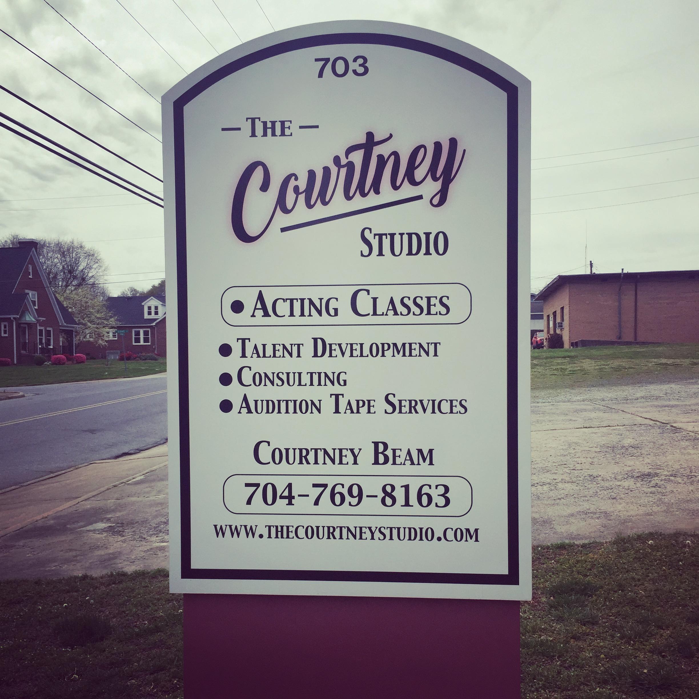 Courtney Studio Sign.JPG