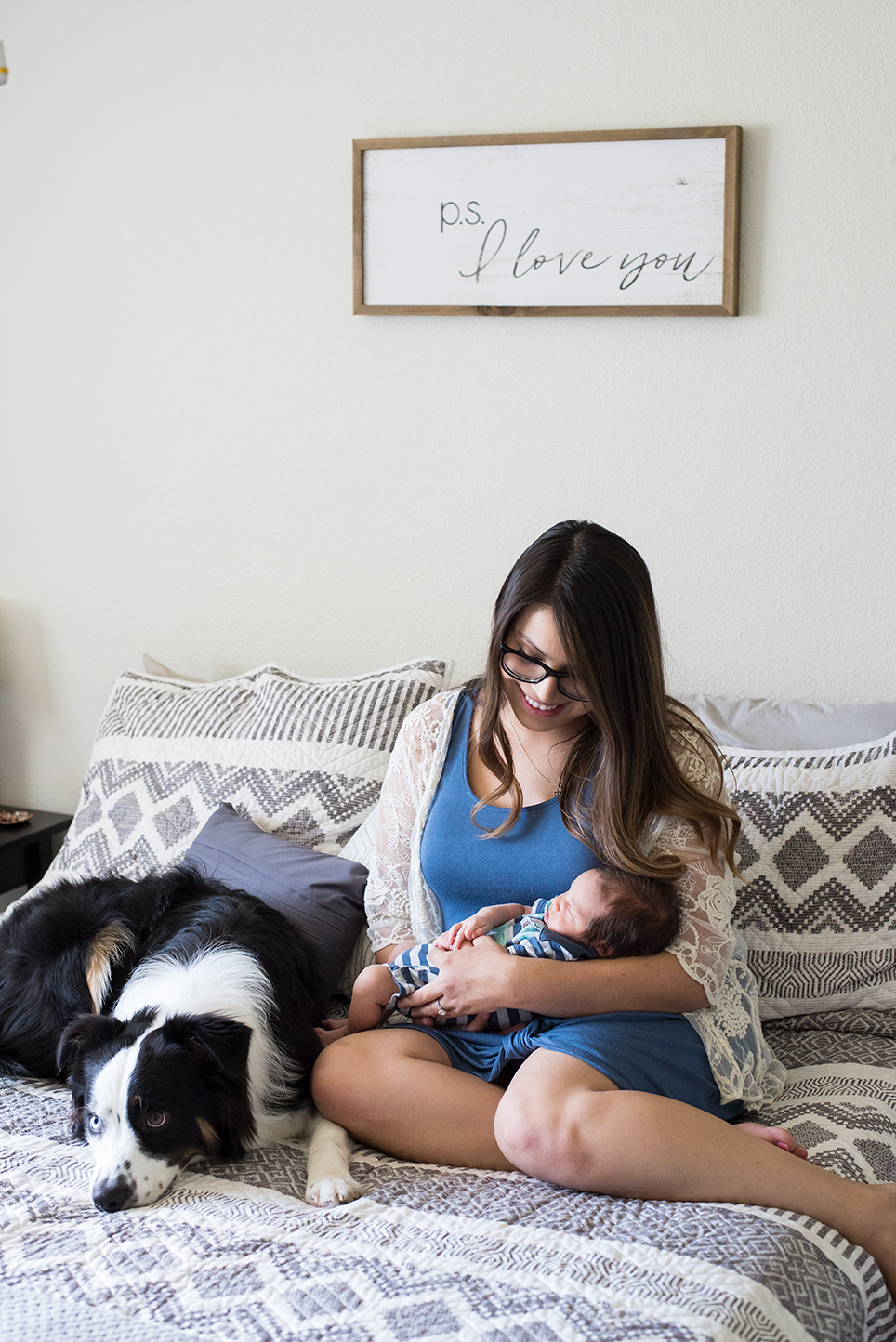 at home lifestyle session with baby vancouver washington