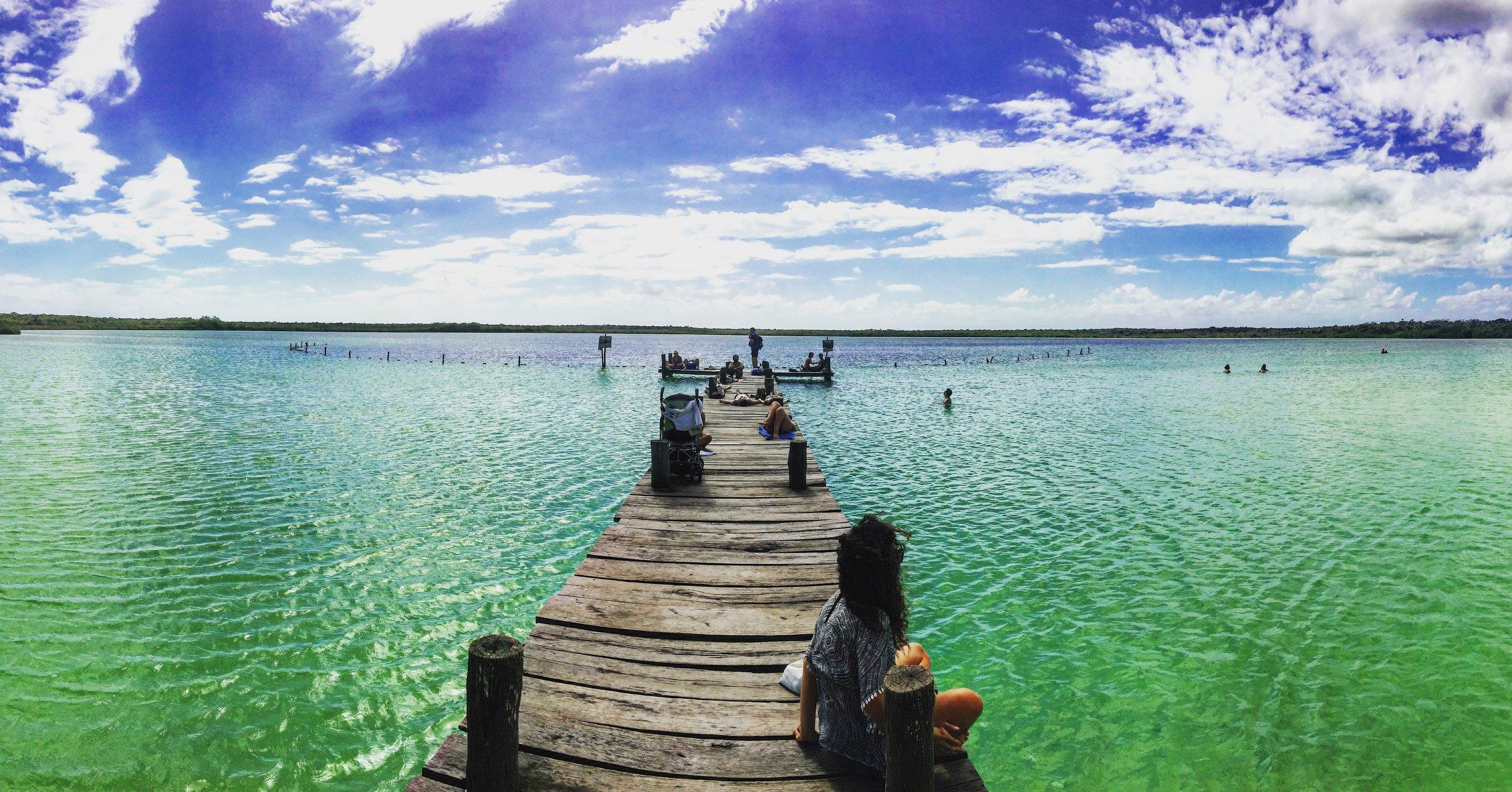 Laguna Kaan Luum, Tulum, Mexico