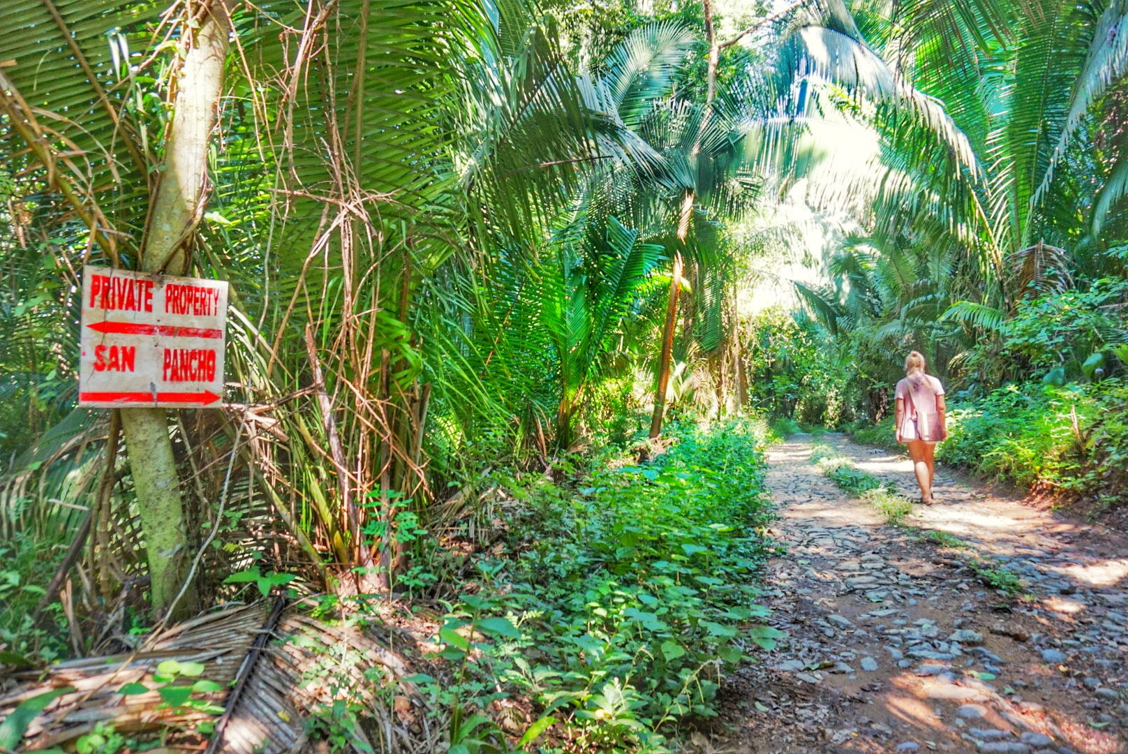Hike to San Pancho Mexico