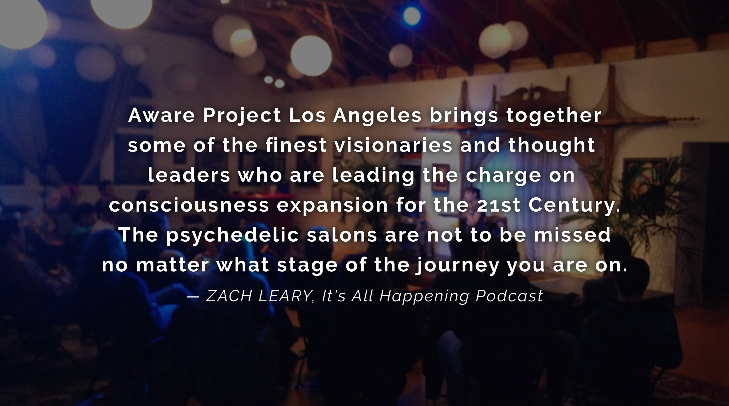 Zach Leary It's All Happening & MAPS Podcast