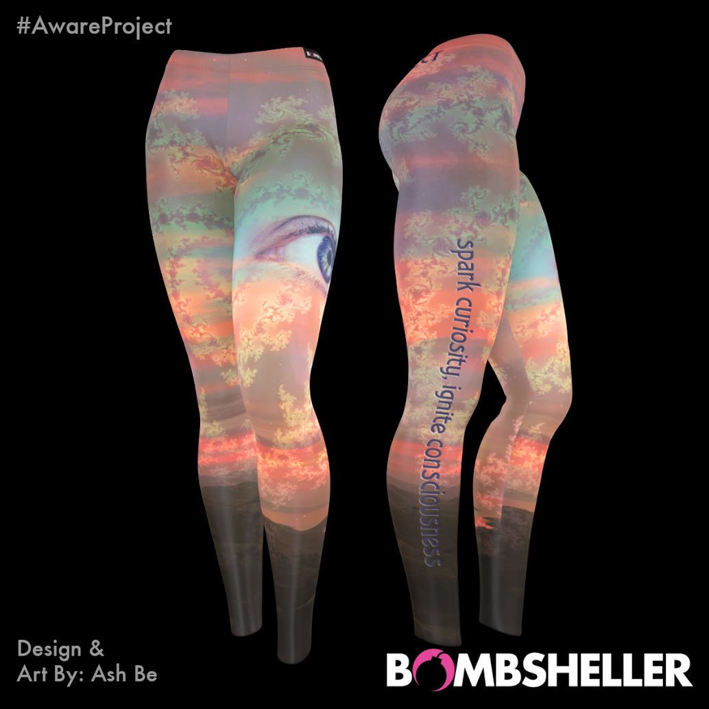 Aware Project Psychedelic Yoga Pants Leggings