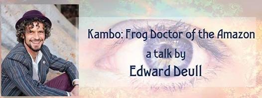 Kambo frog Aware Project Edward Deul