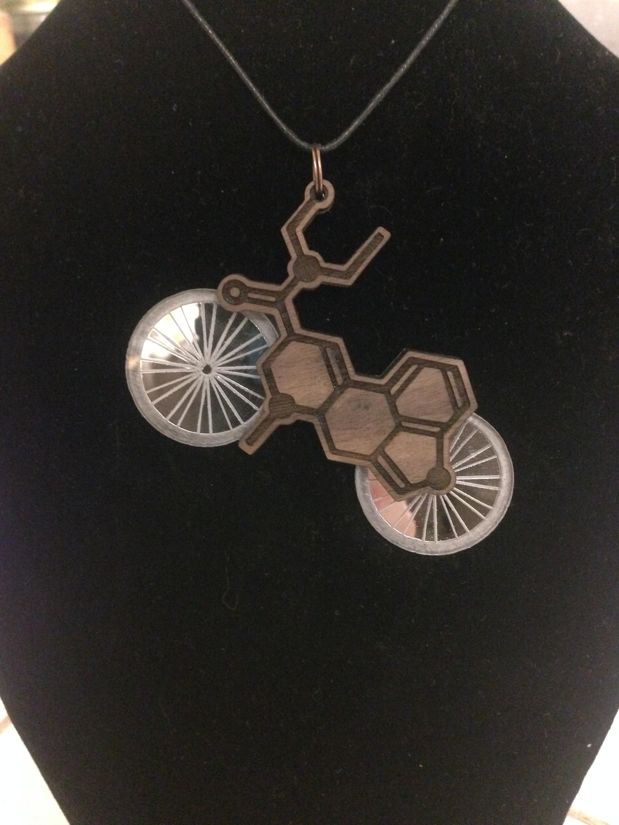 Bicycle Day LSD pendant
