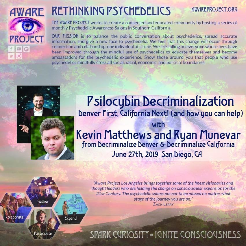 psilocybin decriminalization
