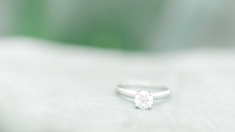 desert wedding ring