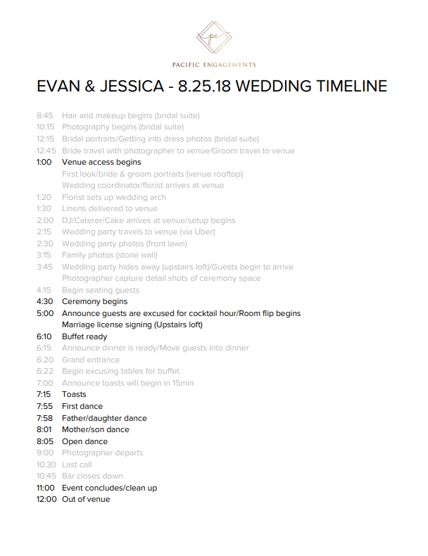 sample-wedding-timeline