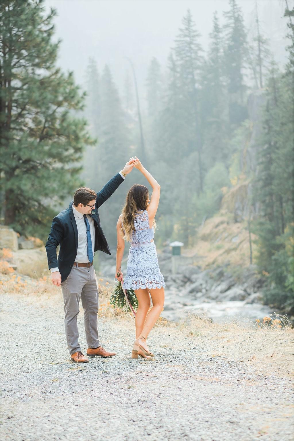 adorable engagement photos