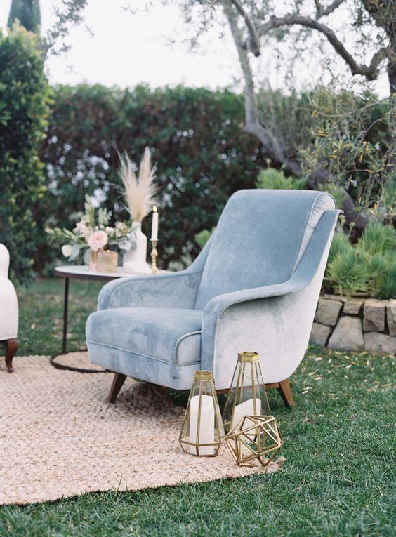 pretty wedding reception lounge setups