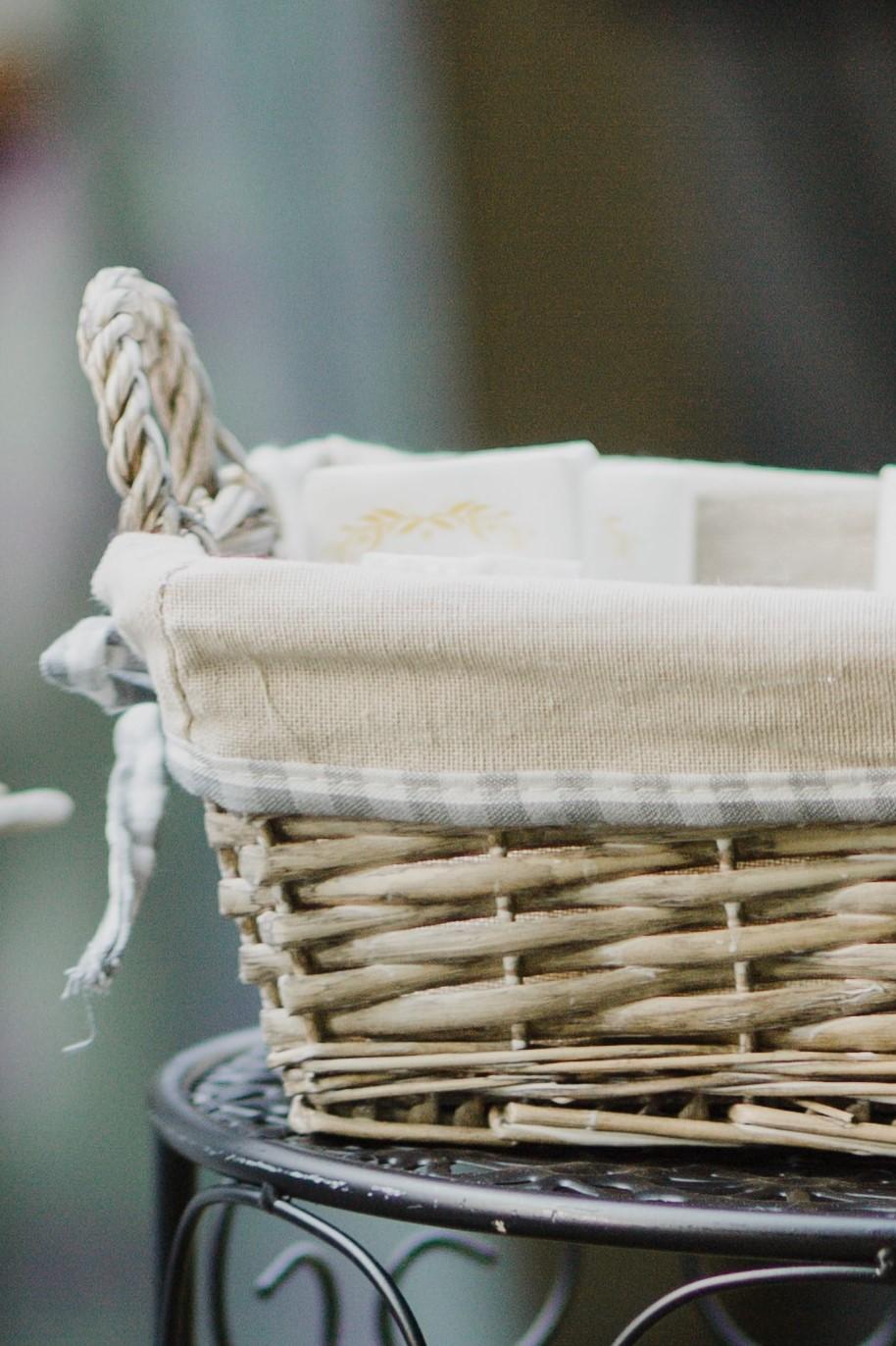 wedding favor basket
