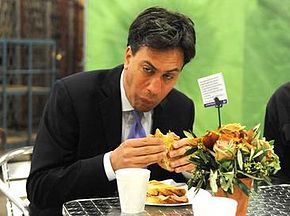 Pictured: Ed Miliband arguably lost the 2015 general election because he found it hard to come across as relatable.