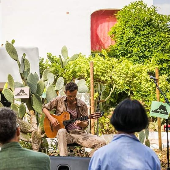Dreamy musical moments in Ibiza @sofarsounds @sofarsoundsibiza  Thanks to Jez for the snap @jeremyrice_photography  Link in bio for more info on my crowdfunder campaign  #ibizamusic #ibiza2018 #ibiza #sofarsoundsibiza #sofarsounds #mindfulness #yogamusic #yogaretreat #ibizaretreats #meditation #mindfulmusic #mindtravel #liveart #collaboration #ambientguitar #ambient #godinguitars #godin #fluxeffects #bosspedals #strymon #strymonelcapistan  @strymonengineering @fluxeffects