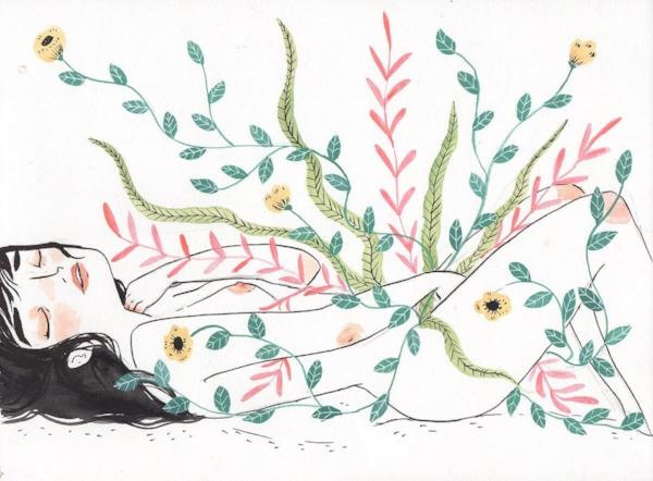 Ilustración de Maria Hesse