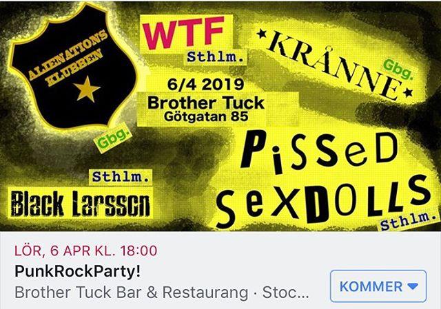 Kommer du? #brothertuck #sthpunk
